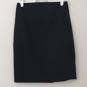 Banana Republic wool pencil skirt